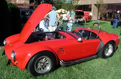 I hope Santa puts this under the tree for me (felixtcat) Tags: people grass classiccar cobra 427 ac carshow musclecar sportscar rollbar onlookers accobra 427cobra carrollshelby 427accobra redsportscar sideexhaustpipes redmusclecar redaccobra chromerollbar red427accobra