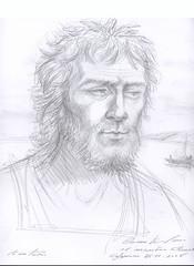 HOLYLAND (stan32) Tags: art portraits sketch fisherman peter holyland capernaum apostle kinnereth simonpeter