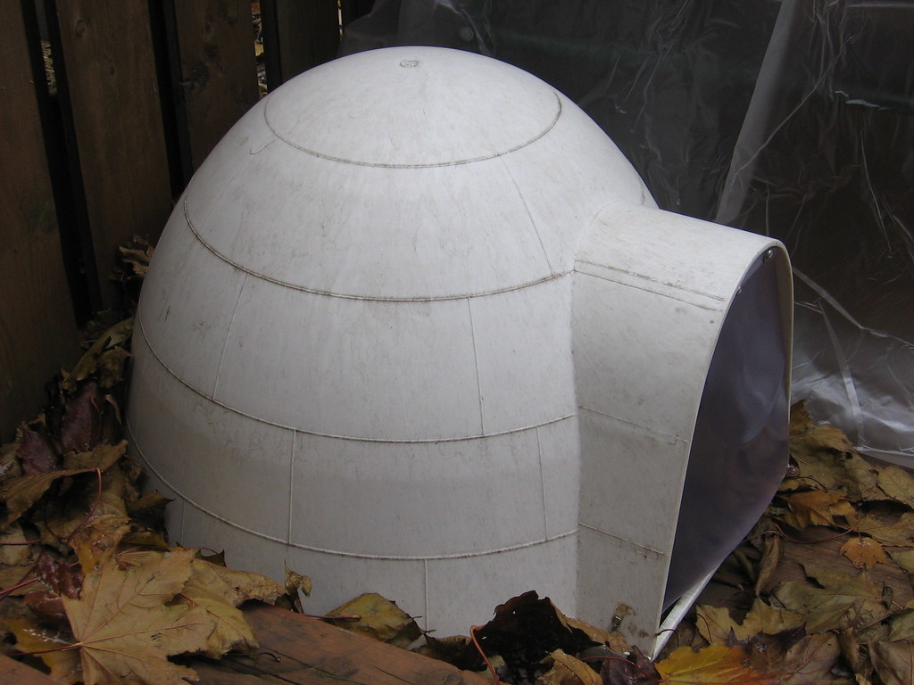 Pet Igloo House & Heating Pad - $50