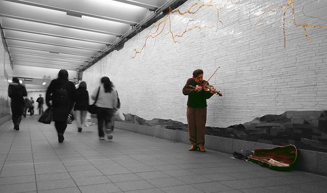 从美国人地铁里的一个实验说起 - 纽约客 - 纽约文摘