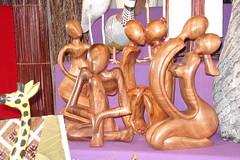 on market stal (Julie70) Tags: wood paris france market things figurines march bois ladfense