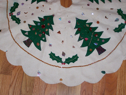 family tree skirt