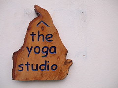 The Yoga Studio sign