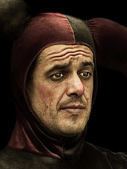 Bufon 3 (www.jordiarmengol.net (Xip)) Tags: portrait retrato xip medieval dragan theface msepia neartobarcelona retratojam