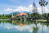 Floating Palace (Richard Hall Photos) Tags: lake bali candidasa floatingpalace reflection volcano
