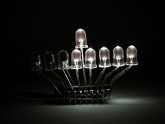 LED Menorah candles - 5 - by oskay