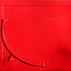 Caboose (10 sec. Rule) Tags: red train catchycolors caboose theflickys