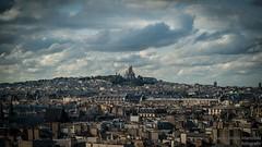 Montmartre, Paris, France (marcomariamarcolini) Tags: marcomariamarcolini nikon nikkor france paris eiffel eiffeltour wow landscape clouds stormy skyline montmartre parigi city daylight