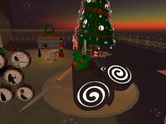 Second Life BB 45 (Gary Hayes) Tags: secondlife bigbrother housemates xmastree challenges endemol muve environmentdesign virtualrealitytv tvformat