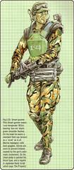 SmartGunner (I Am Adam) Tags: usmc james marine alien aliens cameron technical scifi specs marines apc blueprints colonialmarines smartgun m56 dropship jamjescameron