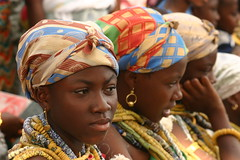 the dipo ceremony of the krobo girls in ghana (Retlaw Snellac) Tags: africa travel tourism canon photography ceremony ghana dipo visittheworld krobo waltercallens