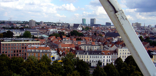 Lille, from the ferris wheel