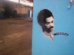 Junior Byles (Wasseraufkleber) Tags: street graffiti stencil stickers pablo away zaragoza junior fade reggae pegatinas dub augustus plantillas melodica byles youcantsubmitanemptyform