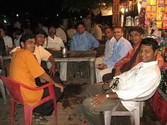 Dhammakranti team in Bodh Gaya cafe