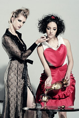 Maid / INFAME Magazine / Second Act / The Flirt - by Simon Pais-Thomas