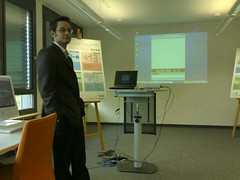 Demo in Munchen (Docomo Euro-Labs) (Matthias Wagner) Tags: mobilife contextwatcher timehour11 demo addresscitymunchen munchen addresscontinenteurope addresscountrygermany germany addresspopulatedplacemunich addresspostalcode80687 addressstreetveitstossstrase addresssubdivisionbayern addresstimezonegmt1 cellcid229482629 celllac983 cellmcc262 cellmnc2 clusternamedocomoeurolabs clusternumber23 clusterurispaceowloffice locationkinghenkeertink geotagged geolat4814139697 geolon1150834483 locationnearbyboehm locationnearbyluther locationnearbysouville locationrange1068 astronomymoonlightfalse astronomymoonphase12 astronomymoonstatewaxinggibbous astronomysunhours1123 astronomysunlightday atmospherehumidity81 atmospherepressure102 atmospherepressurechangesteady atmospheretstorm0 atmosphereuv0 atmosphereuvmax2 atmospherevisibility22 conditioncondsunny dry temperaturefeel8 temperaturetemp8 winddirssw windforce2 windgust20 windspeed11
