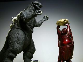 Godzilla vs Buddha