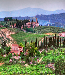 Once Upon A Time... (linda yvonne) Tags: italy landscapes bravo onceuponatime tuscany bella tweaked hdr photomatix specland 1exp fairytalevillage kkfav lindayvonne