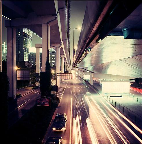shanghai elevated expressways 1
