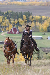 Come riding with me..... (cowgirlrightup) Tags: autumn me fun star aztec nikita albertacanada i500 abigfave foxfjord gpsetest
