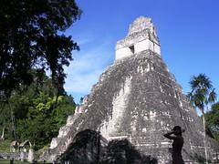 Tikal rovine Maya Guatemala Tempio I, Del Giaguaro piramidi giungla scimmie animali selvatici America Centrale