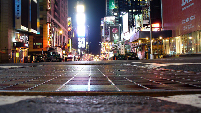 Empty: Pavement View, Times Square