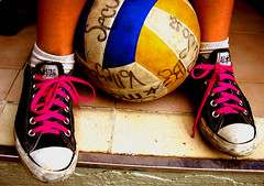 Converse & Volley Ball
