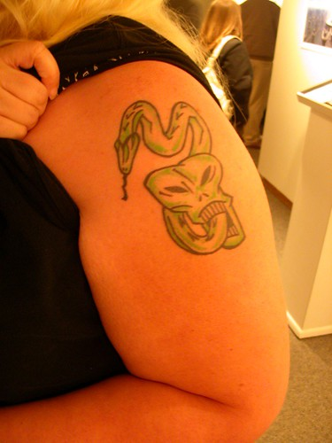 Dark Mark Tattoo I was not lying