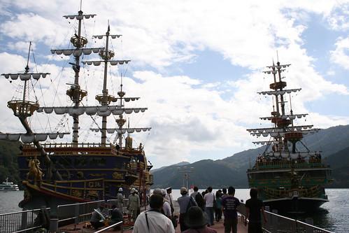 箱根海賊船,桃源台港