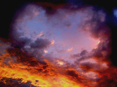 Spring Sunset (Earlette) Tags: sunset red sky colour clouds spring australia oldbar earlette
