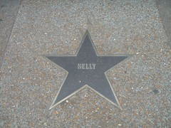 2006-10-24 St Louis Walk of Fame_Nelly