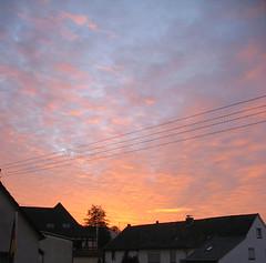 Himmel II (Aleks_de) Tags: red sky rot himmel romantik trumen