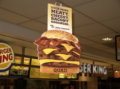 BK Quad Stacker (colros) Tags: cleveland advertisement burgerking obesity bk calories foodaddiction quadstacker