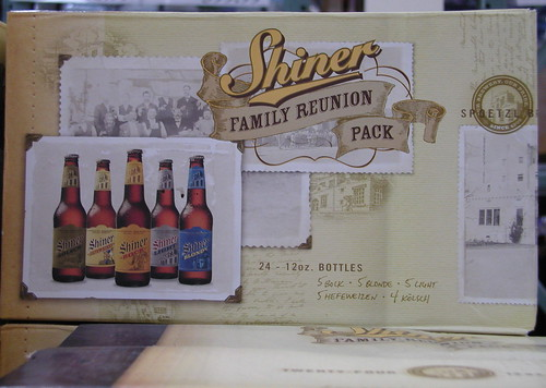 "Shiner Beer's ""Family Reunion Pack"""