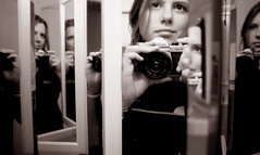 me, multiplied (manyfires) Tags: selfportrait reflection me mirror pentax pentaxk1000