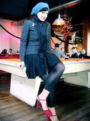 rack 'em (trixiebedlam) Tags: amy dumbo superfine brunchtastic hottiecakes orangepooltable ihavenouglyfriends