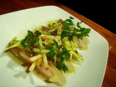 marinated hamachi (vanillalattegirl) Tags: food hearth