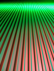 green ascension (Darwin Bell) Tags: red abstract green topf25 colors wall stripes complementary trophy halloffame straight 50 yerbabuena scientist greenandred 2for2 casioexz850 25faves dissymmetry abigfave p1f1 superaplus aplusphoto dissymmetrydecember2006halloffame superhearts