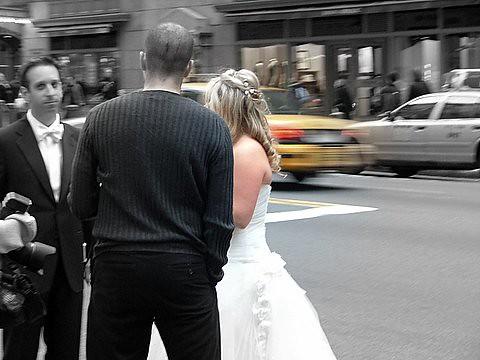 New York:wedding day