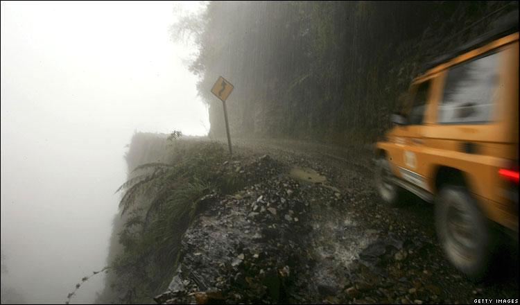 Las carreteras más peligrosas del planeta