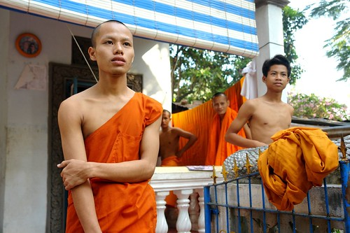 Monk in Battambang