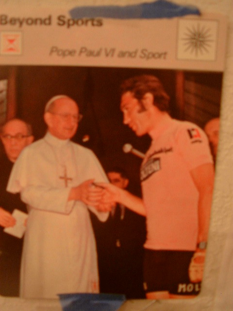 Merckx and the Pope