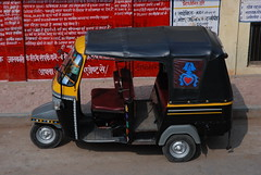 Taxi or SUV ? (whitespikedevil) Tags: india taxi piaggio