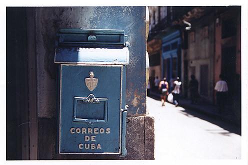 Correos de Cuba por Angus M.