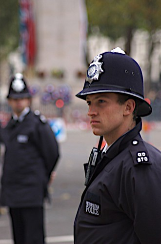 British Policemen by Steve Punter (Flickr)