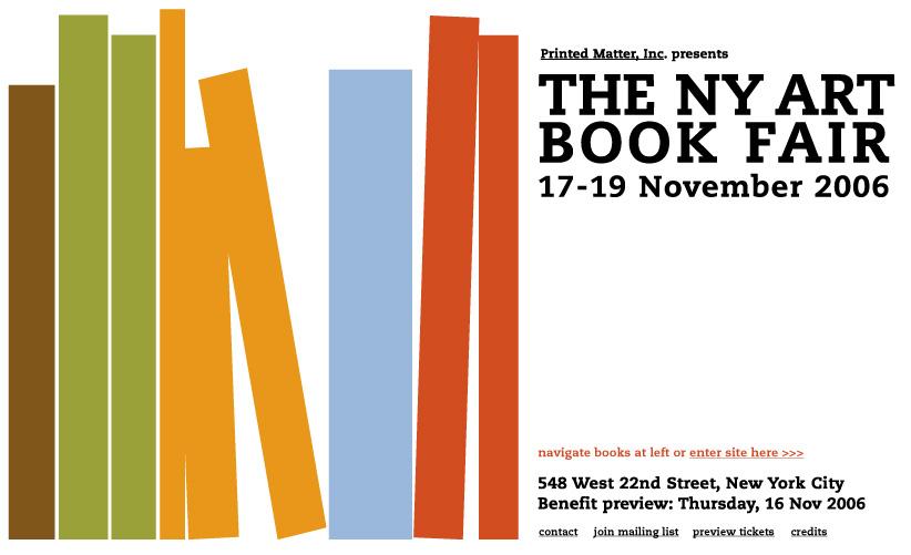 The NY Art Book Fair