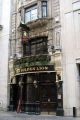 UK - London - St James's: The Golden Lion (wallyg) Tags: uk greatbritain england london westminster bar pub europe unitedkingdom britain stjamess londonist goldenlion eedleandmeyers