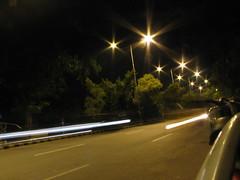 speeding by