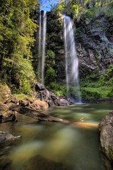 Twin Falls (Garry - www.visionandimagination.com) Tags: landscape ilovenature waterfall oz australia explore qld aus springbrooknationalpark i500 visionandimagination wwwvisionandimaginationcom