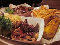 smoke joint (goodiesfirst) Tags: brooklyn corn bbq pork fries barbecue ribs fortgreene smokejoint